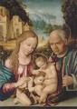 The Holy Family with the Infant Saint John the Baptist - Italo-Spanish School
