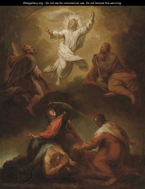 The Transfiguration of Christ - Italian School