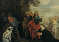 The Raising of Lazarus - Italian School