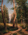 A path in a wood - Ivan Shishkin