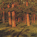 Pine forest - Ivan Fedorovich Choultse