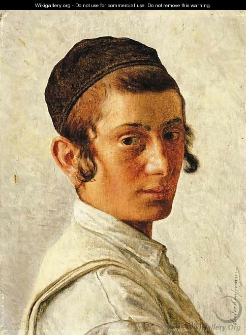 Portrait of a Young Boy - Isidor Kaufmann