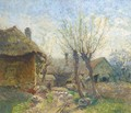 A country farm - Ignac Ujvary