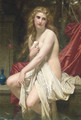 Susannah at her Bath - Hugues Merle