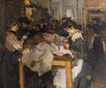 Atelier costume naaisters - Isaac Israels