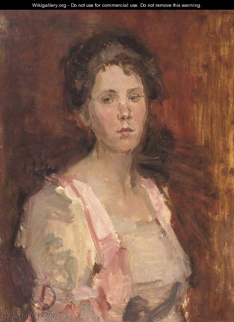 Pretty in pink - Isaac Israels
