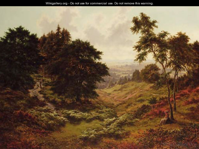 Early Autumn, May Hill, Gloucester - Horace Walter Gilbert