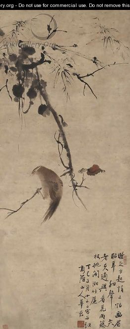 Oriole and Red Leaves - Hua Yan