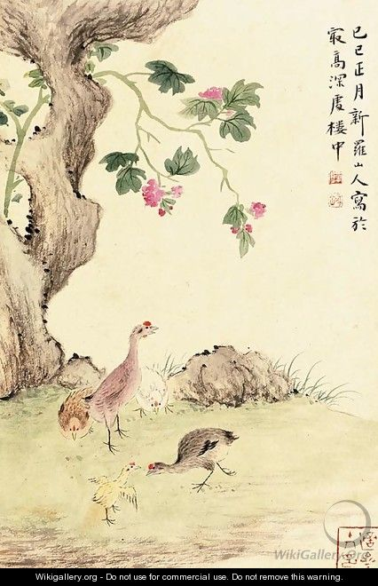 Landscapes, Birds and Flowers, Grasses and Insects - Hua Yan
