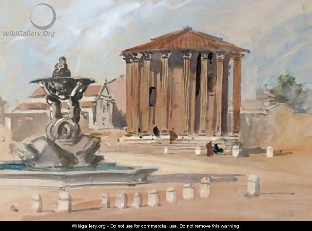 The Temple of Vesta, Rome - Hercules Brabazon Brabazon