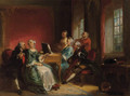Soiree musical - Herman Frederick Carel Ten Kate