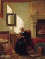 The elderly scholar - Johannes Anthonie Balthasar Stroebel