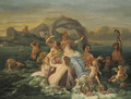 The Triumph of Amphitrite - Jean-Jacques Francois Monanteuil