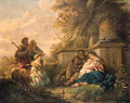 The Rest on the Flight into Egypt - Jean Jacques II Lagrenee