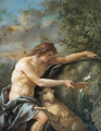 Saint John the Baptist in the Wilderness - Jean Jacques II Lagrenee