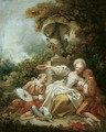 La coquette fixee ('The Fascinated Coquette') - Jean-Honore Fragonard