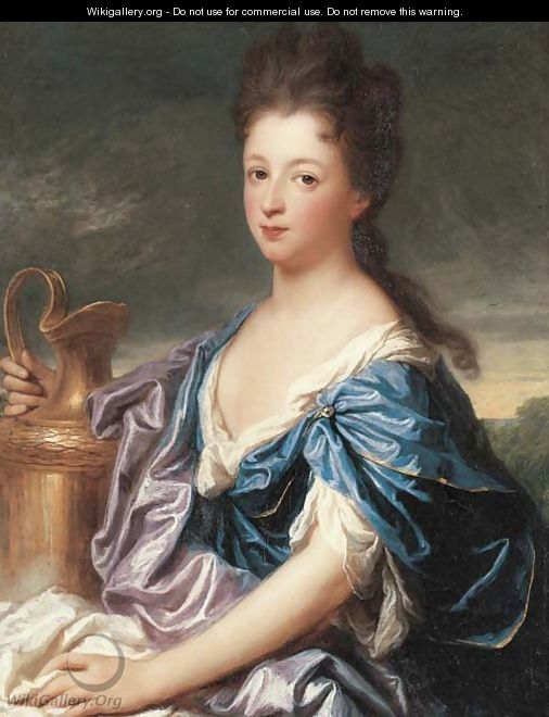 Portrait of a lady, said to be the Marquise d