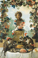 The Feast of the Monkeys - Jean-Baptiste Oudry
