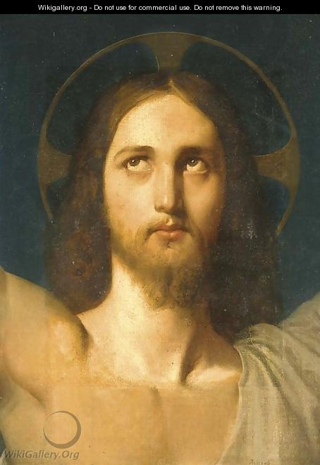The Head of Christ - Jean Auguste Dominique Ingres