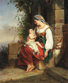 Mother and child - Jean Augustin Franquelin