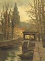 A view of Gouda - Jan Sirks