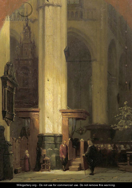 The commence of the service - Jan Jacob Schenkel
