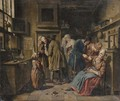 A doctor's surgery - Jan Jozef, the Younger Horemans