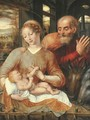 The Holy Family - Jan Massys