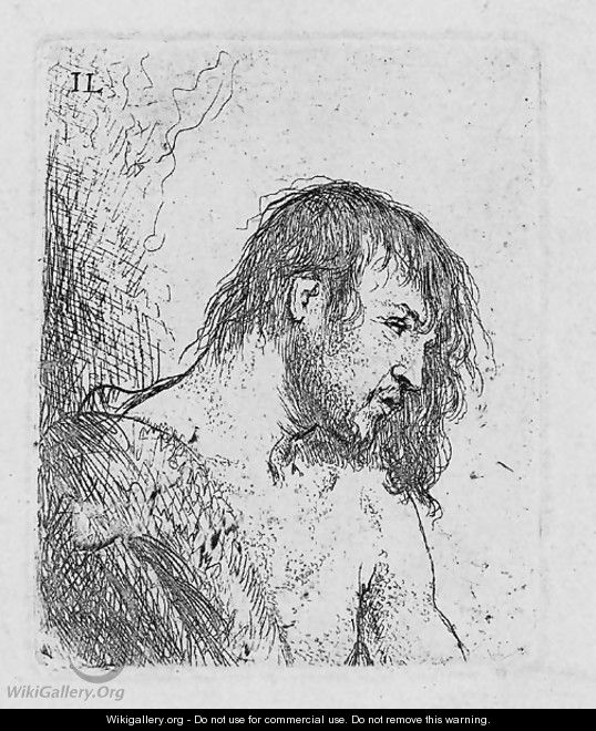 Bust of a naked Man - Jan Lievens