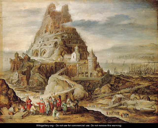 The Tower of Babel - Jan, the Younger Brueghel