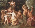 An Allegory of Abundance - Jan, the Younger Brueghel