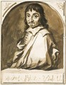 Portrait of Rene Descartes - Jan de Bisschop