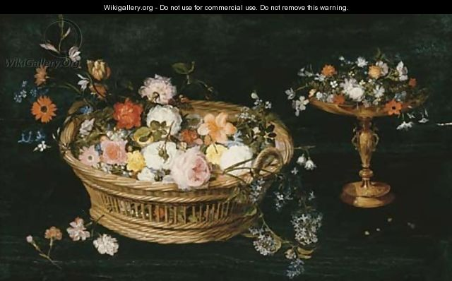 Roses - Jan, the Younger Brueghel