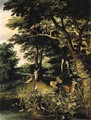 Adam and Eve in the Garden of Eden - Jan, the Younger Brueghel