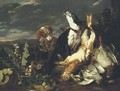 A hunting still-life with a partridge - Jan Fyt