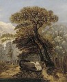 A wooded landscape - James Sillett