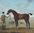 The Duke of Devonshire's Flying Childers held by a jockey - James Seymour