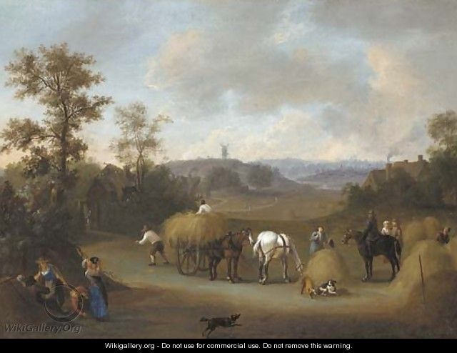 Haymaking - James Ross