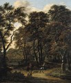 A hunting party in a wood - Salomon Rombouts