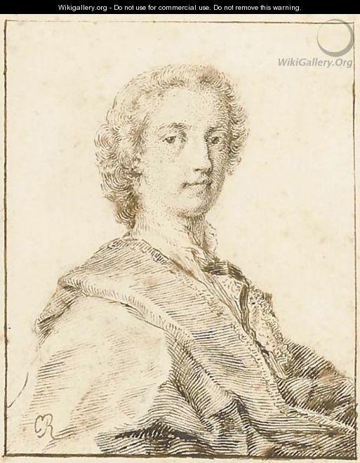Portrait of Lewis Watson, 2nd Earl of Rockingham (circa 1714-1745), bust-length - Rosalba Carriera