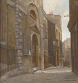 Entrance to St Mary at Hill, Love Lane, London - Rex Vicat Cole