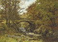 A bridge over a rocky stream - Richard Gay Somerset