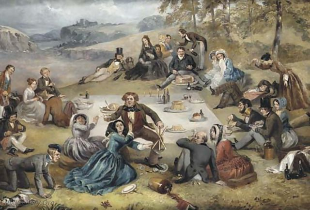 The Picnic - Richard Doyle