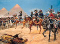 Bonaparte in Egypt, 21st July, 1798 - Richard Caton Woodville