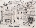 On the Grand Canal, Venice, Italy - Richard Parkes Bonington