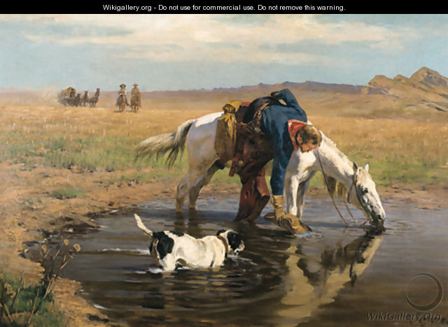 The Watering Hole - Richard Lorenz
