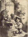 Joseph's Coat brought to Jacob - Rembrandt Van Rijn