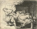 Joseph and Potiphar's Wife - Rembrandt Van Rijn