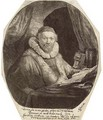 Jan Uytenbogaert, Preacher of the Remonstrants - Rembrandt Van Rijn