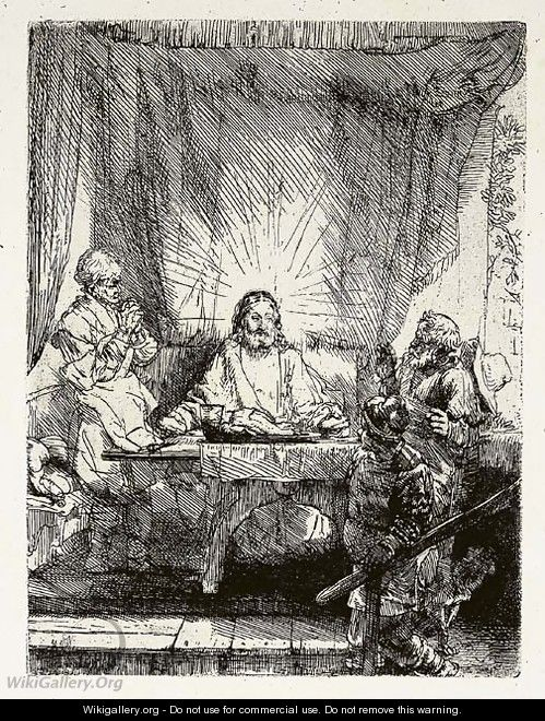 Five later impressions - Rembrandt Van Rijn